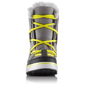 Sorel Glacy Shortie - Bottes Femme - jaune/gris